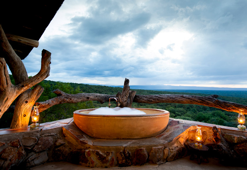 african safari lodge marketing